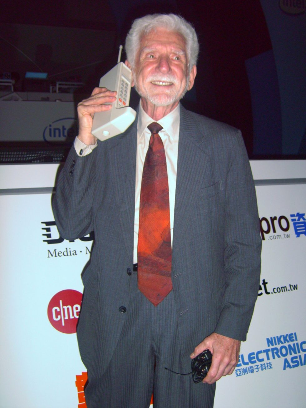 Martin Cooper - First Cell Phone Inventor